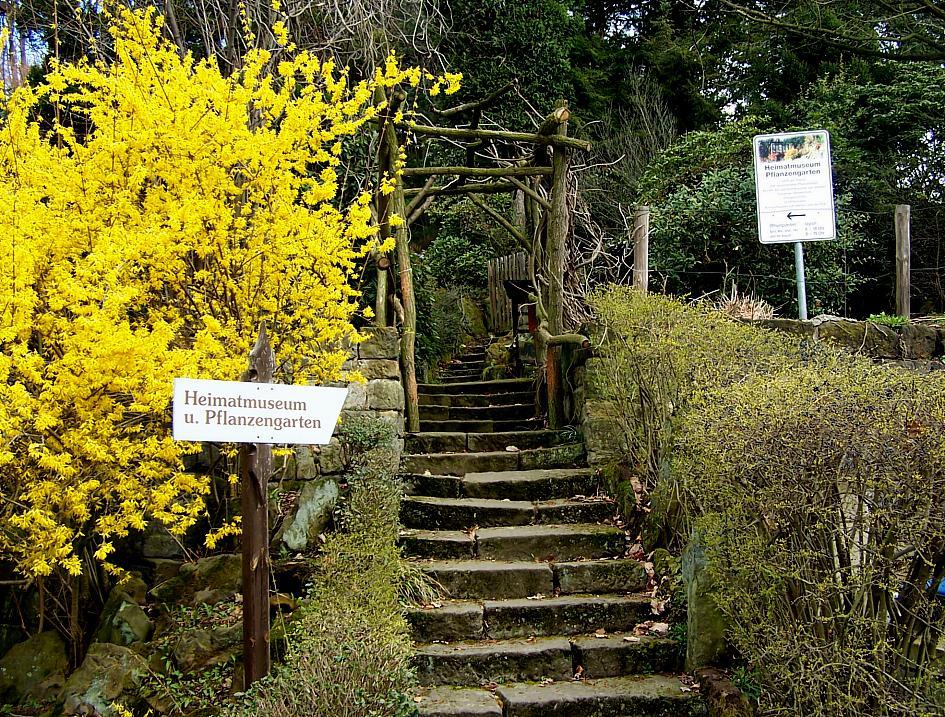 Pflanzengarten Eingang