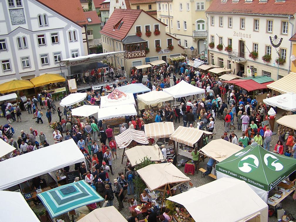 Naturmarkt Stadt Wehlen 2013
