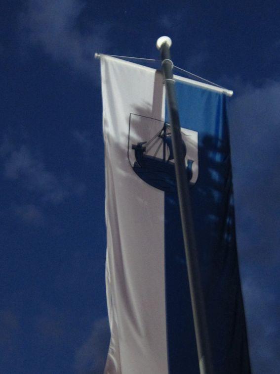 Neue Fahne Burg Wehlen