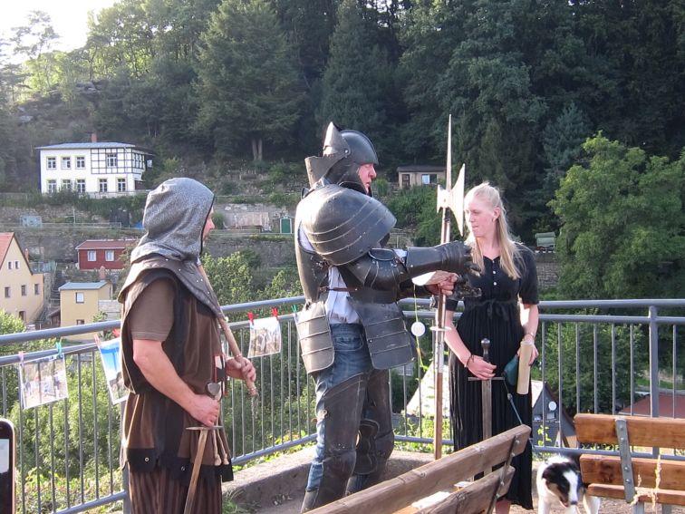 Ritter der Burg Wehlen